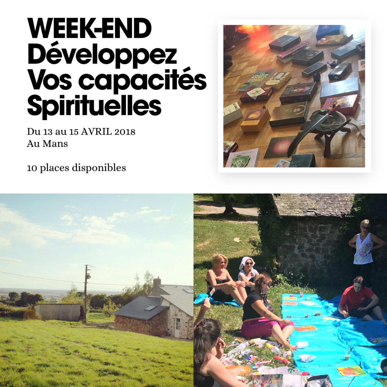 Stage résidentiel à 2H de paris : développez vos capacités spirituelles