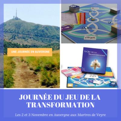 (Auvergne) : 2 et 3 Novembre : Journée du jeu de la transformation.